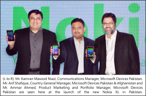 Nokia XL Offically Launch in Pakistan (English)